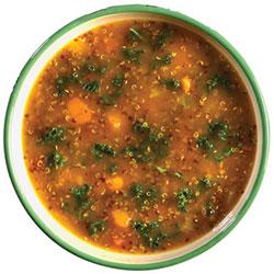 Kale and quinoa soup thumbnail