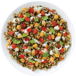 Lentil and tabbouleh salad thumbnail