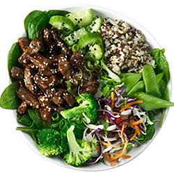 Teriyaki beef salad thumbnail