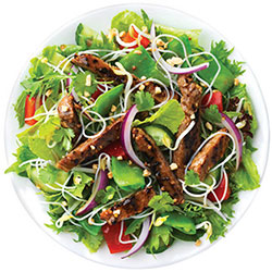 Warm Thai beef salad thumbnail