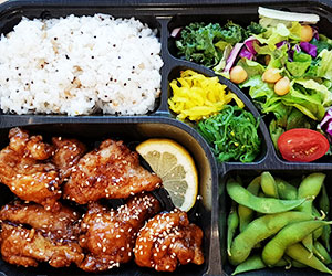 Teriyaki chicken bento box thumbnail