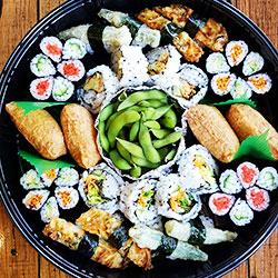 Vegetarian Platter - serves 4-5 thumbnail
