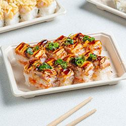 Spicy aburi salmon  thumbnail