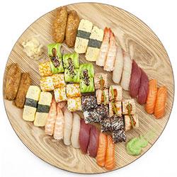 Deluxe sushi box thumbnail