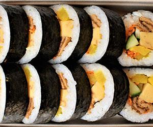 Vegetarian sushi pack thumbnail