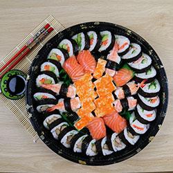 Mixed nigiri sushi platter thumbnail