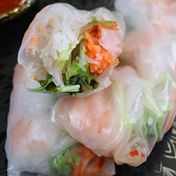 Rice paper rolls - individual serve thumbnail