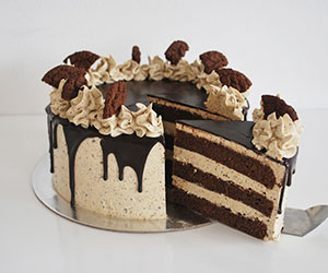 Cookies and cream cake thumbnail