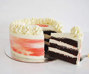 Red velvet cream cheese cake thumbnail