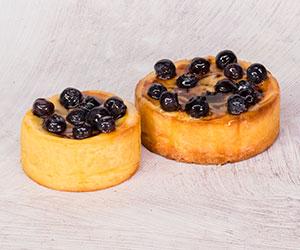 Blueberry cheesecake tart thumbnail