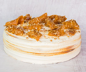 Coffee pecan brittle cake thumbnail