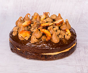 Gingerbread caramel apple cake thumbnail