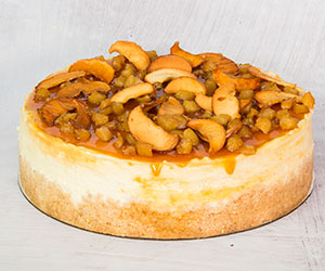 Toffee apple baked cheesecake thumbnail