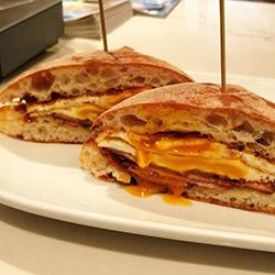 Bacon and egg roll thumbnail