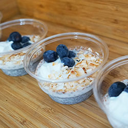 Chia pudding cup - 240ml thumbnail