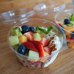 Fruit salad and yoghurt cup - 375ml thumbnail