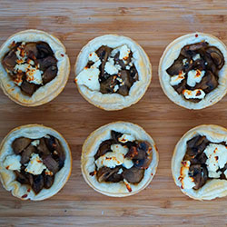Mushrooms tarts thumbnail