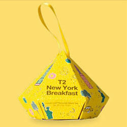 New York breakfast ornament - loose leaf thumbnail
