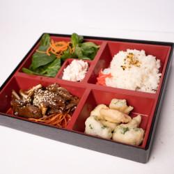 Teriyaki beef bento box thumbnail