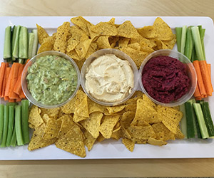 Dips platter - serves up to 8 thumbnail