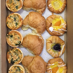 Danish, croissant and quiche thumbnail