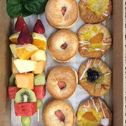 Danish, skewer and bagel package thumbnail