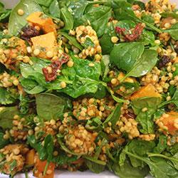 Pumpkin couscous salad thumbnail