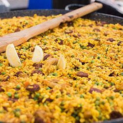 Gourmet paella thumbnail