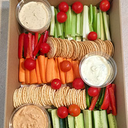 Crudites and dips platter thumbnail