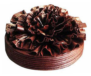 Black angel cake - 28 cm - serves up to 18 thumbnail