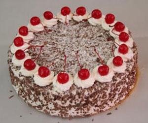 Black Forest cake - 24 cm - serves up to 14 thumbnail