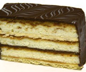 Chocolate coffee slice thumbnail