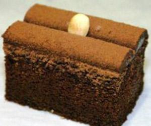 Chocolate truffle slice thumbnail
