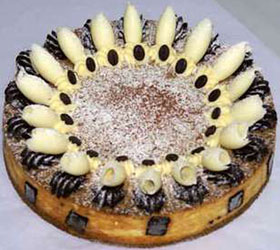 Coffee ricotta cheesecake - 28 cm - serves up to 18 thumbnail