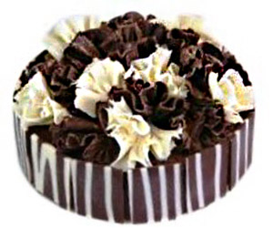 Double chocolate fantasy cake -  24 cm - serves up to 14 thumbnail