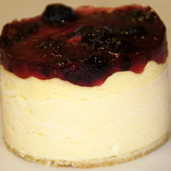 New York baked cheesecake - mini thumbnail