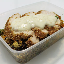 Chicken quinoa salad thumbnail