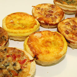 Quiches - mini thumbnail