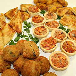 Vegetarian platter thumbnail