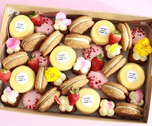 Australia's biggest morning tea assorted sweets box thumbnail