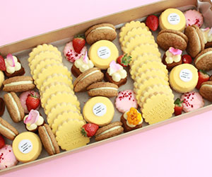 Australia's biggest morning tea extra large assorted sweets box thumbnail