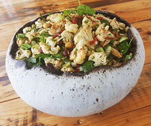 Roasted cauliflower salad thumbnail
