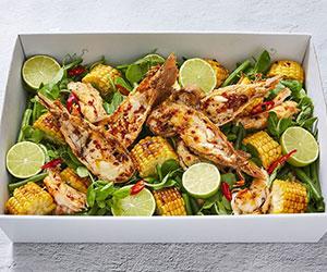 Balmain bug salad with corn and ginger butter thumbnail
