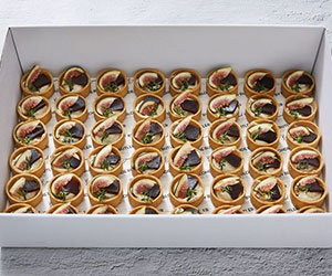 Gorgonzola, fig and quince tart thumbnail