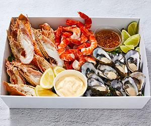 Fresh seafood selection thumbnail