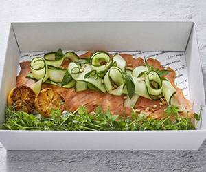 Smoked salmon - 1kg thumbnail