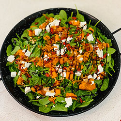 Pumpkin, spinach and feta  thumbnail