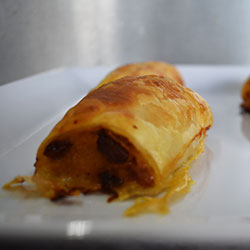 Homemade spiced sausage rolls thumbnail