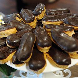 Chocolate eclairs thumbnail