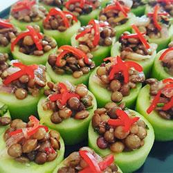 Cucumber tarts  thumbnail